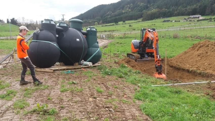 Kiwi Green Plumbing & septic tank services Kapiti Manawatu